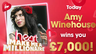 Amy Winehouse could win you £7,000 today
