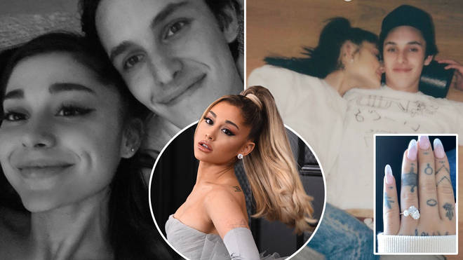 Ariana and Dalton reportedly got hitched over the weekend