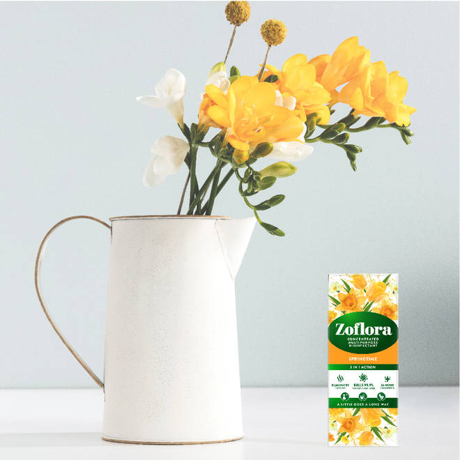 Bring the gorgeous scent of springtime blooms and freshly cut grass indoors