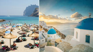 What are the rules on going on holiday to amber list countries? (stock images)