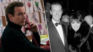 Ewan McGregor plays Halston in the Netflix series