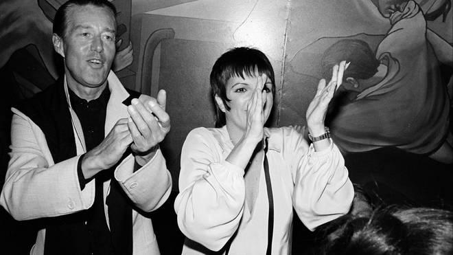 Halston and Liza Minnelli in 1981