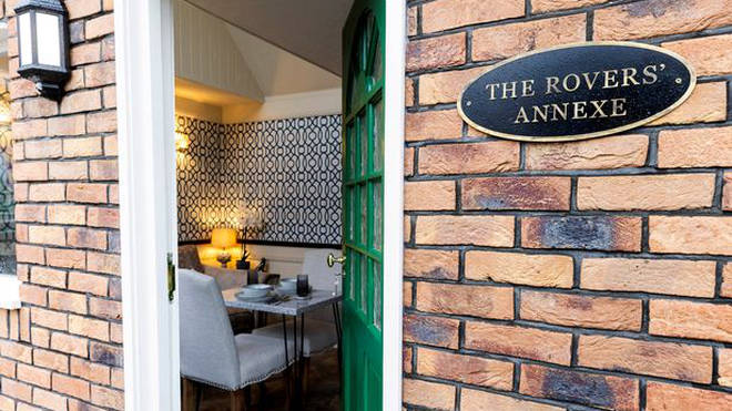 Guests can stay in the Coronation Street Annexe