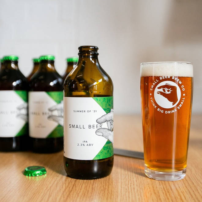 The low-alcohol IPA is made sustainably