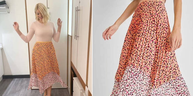 Holly Willoughby's skirt is from French Connection