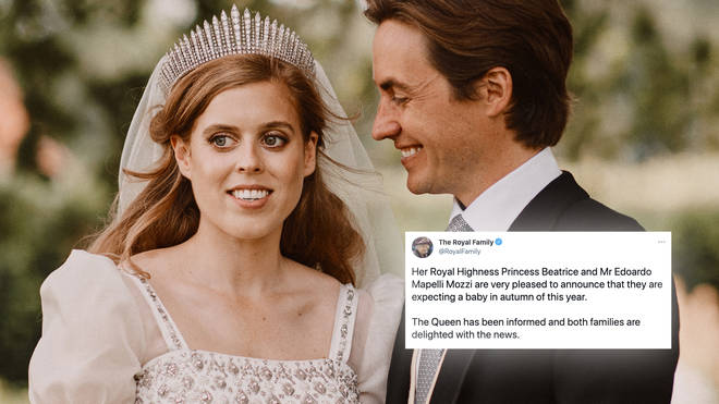 Princess Beatrice is pregnant with her first child