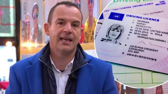 Martin Lewis has urged drivers in the UK to check their licences