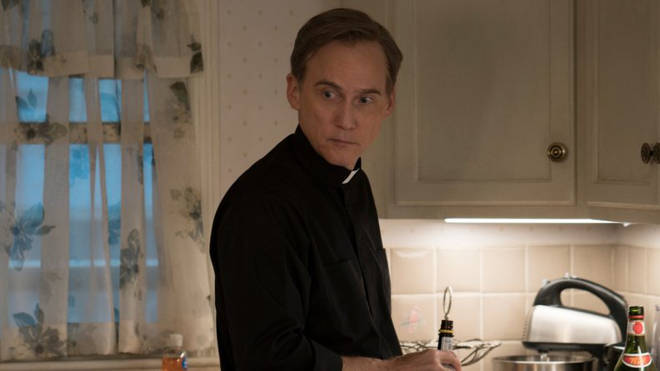 Father Dan could very well be a suspect, hiding in plain sight