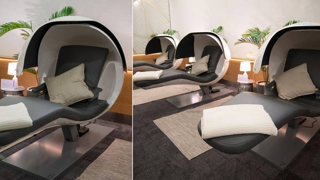 British Airways have created 'nap pods' for their passengers