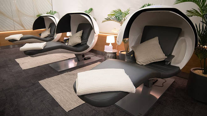 British Airways have launched 'Forty Winks' lounges