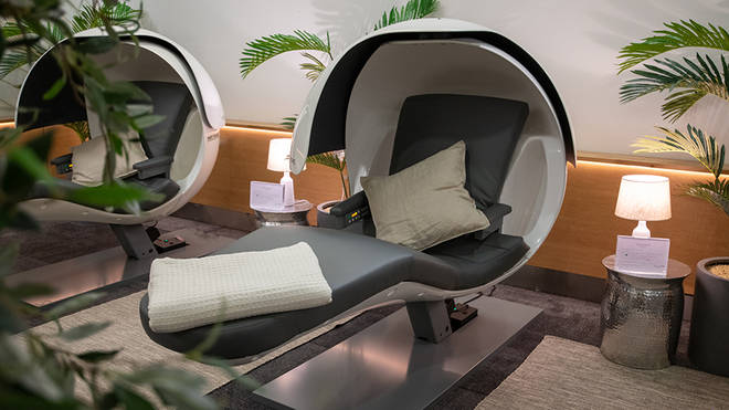 The 'Forty Winks' lounge will be available at Heathrow