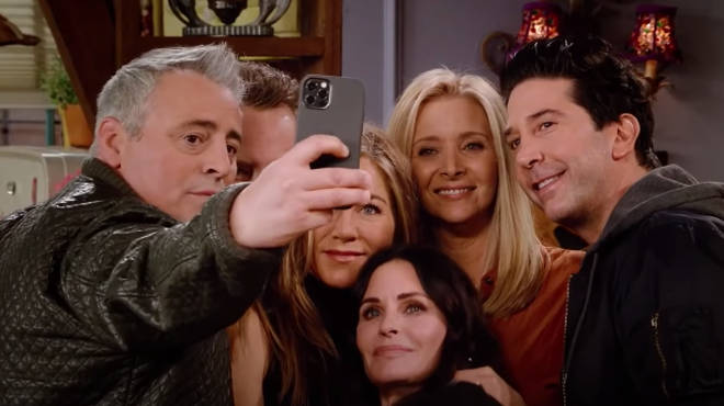 The Friends stars have reunited for a one-off special 17 years after the show finished