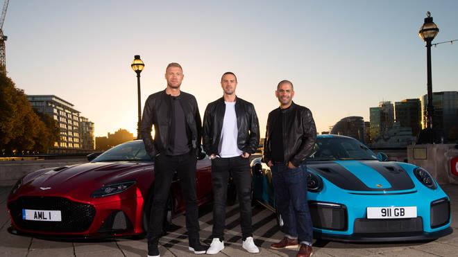 Matt LeBlanc presented Top Gear in the UK after Friends