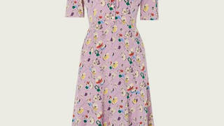 Holly Willoughby is wearing a dress from LK Bennett