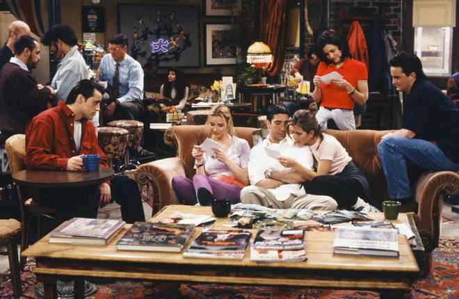 Friends aired between 1994 and 2004