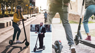 E-scooter trials are still going on in towns and cities across England