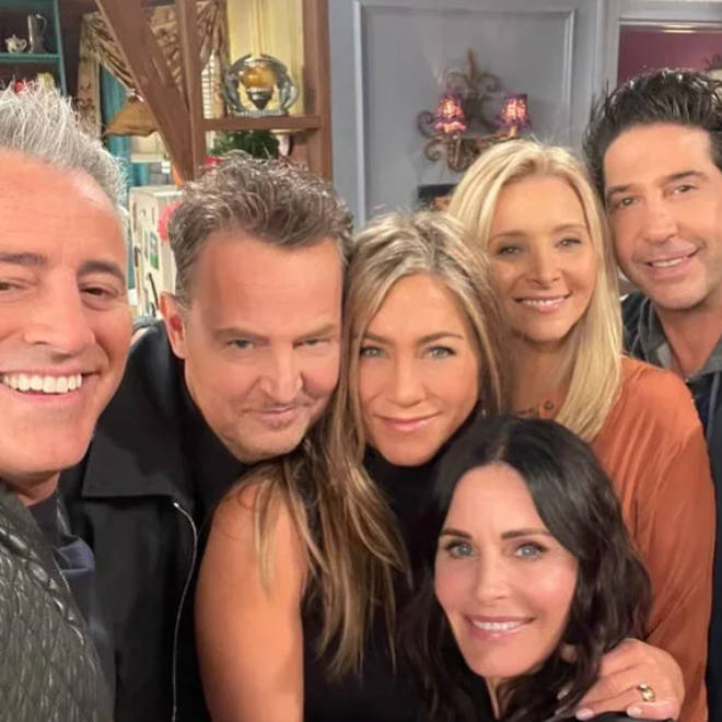 The Friends reunion will air in the US next week
