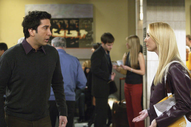 The final episode saw Ross chase Rachel to the airport to declare his love for her