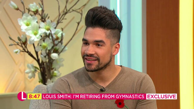 Louis Smith revealed live on Lorraine that he is retiring from gymnastics