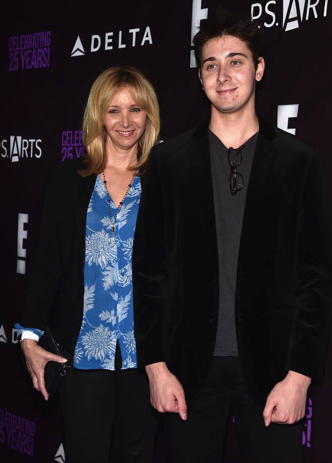 Lisa's son Julian in 23 years old