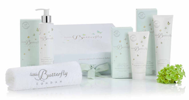 The pamper kit has three gorgeous products designed with mums in mind