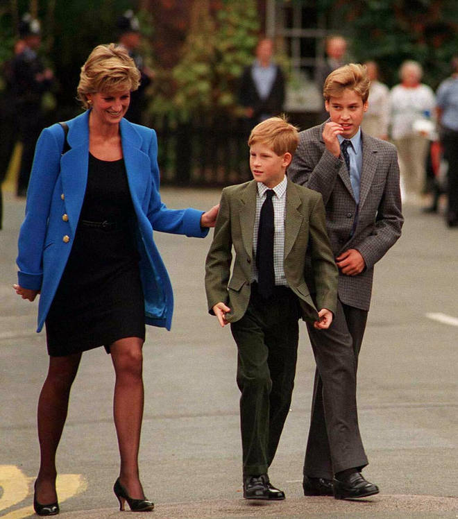 Harry was only 12-years-old when Diana died in a car accident