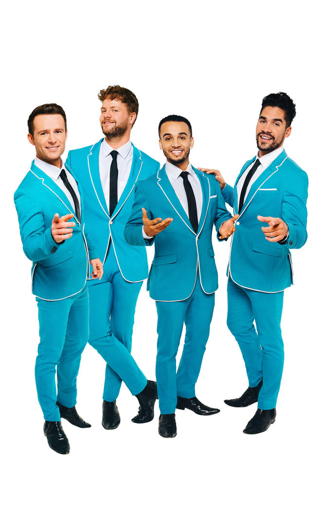 Harry Judd, Jay McGuinness, Aston Merrygold and Louis Smith star in Rip It Up - The 60s
