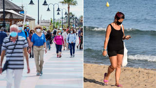 Spain has announced plans to welcome UK tourists from next week