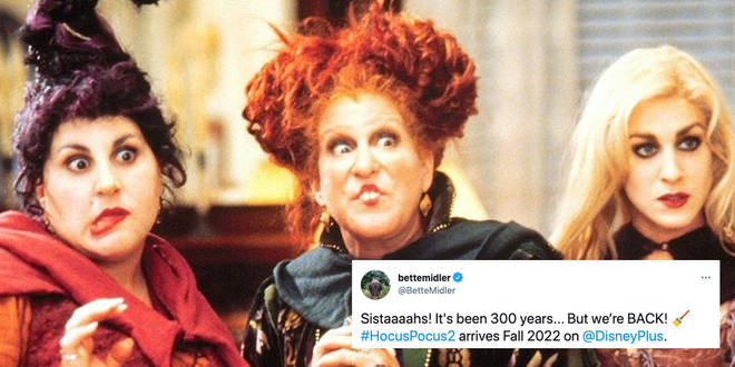 Hocus Pocus is returning for another movie next year