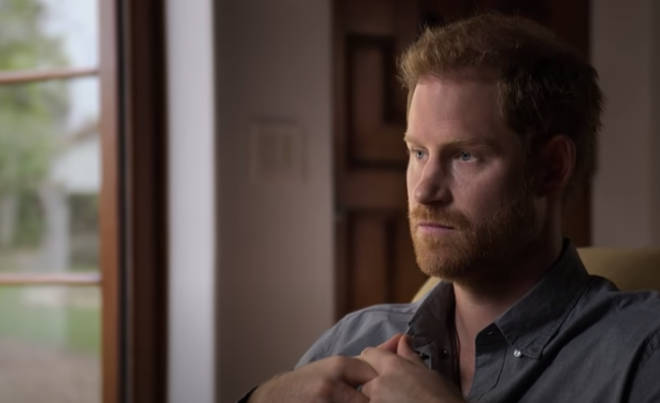 Prince Harry opened up about his mental health struggles in the new documentary