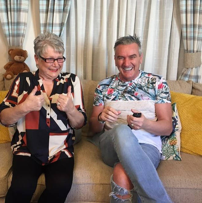 Jenny and Lee star on Gogglebox together