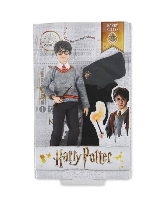 The range includes Harry Potter and Hermione dolls