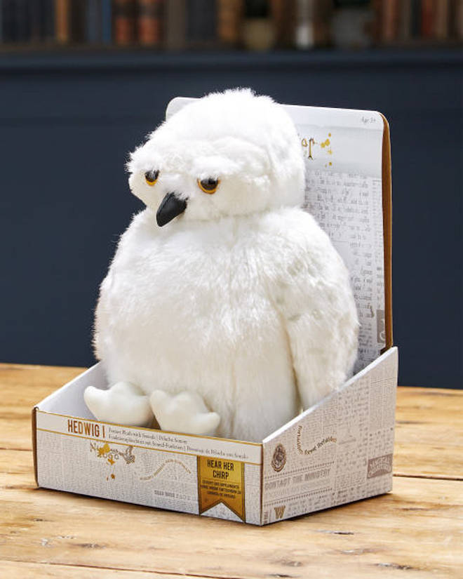 They are also selling an adorable Hedwig toy