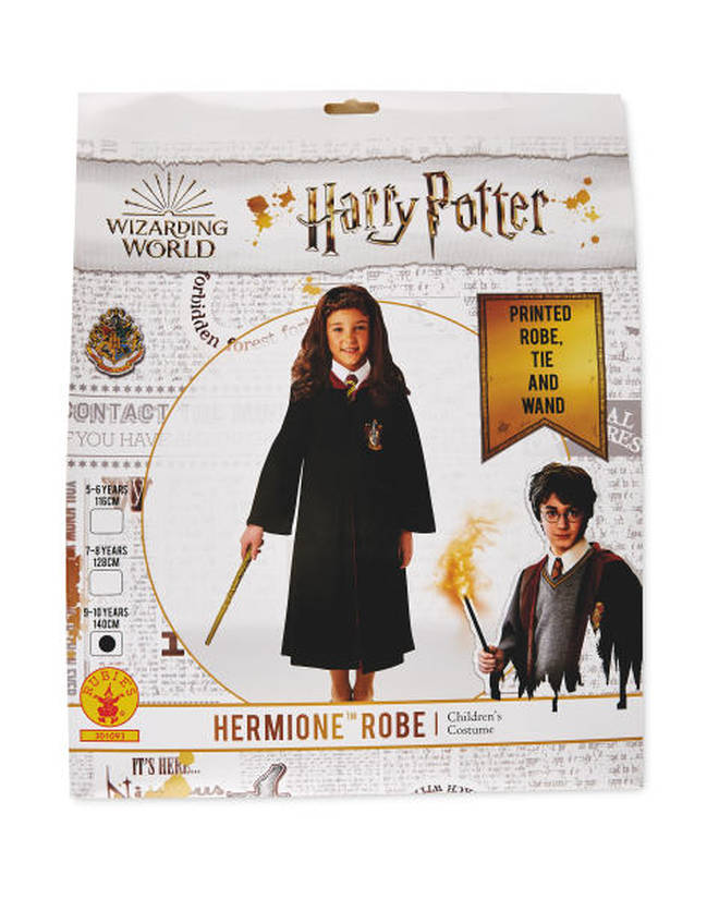 The Hermione robe makes for a perfect fancy dress costume