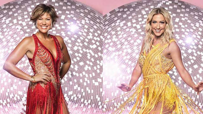 Kate Silverton and Faye Tozer reveal the impact of Strictly training on their bodies