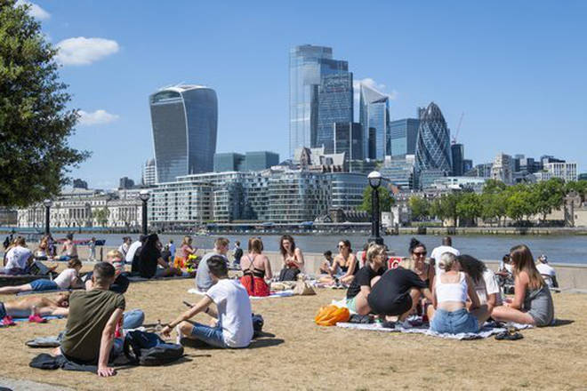 Temperatures could reach as high as 24C in parts of the south