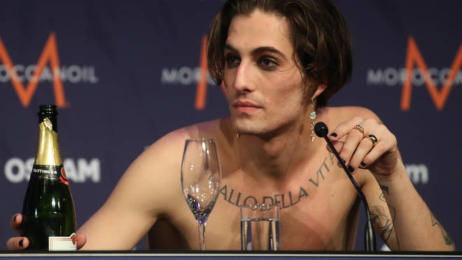 Damiano denied taking drugs at Saturday night's event