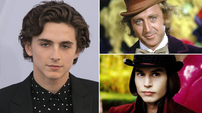 Timothée will play Willy Wonka in a new prequel