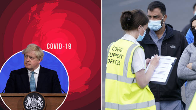 The Indian variant of Covid-19 is spreading in eight hotspots across England