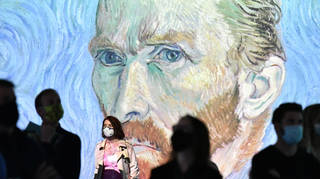 The event brings the iconic painter's work to life