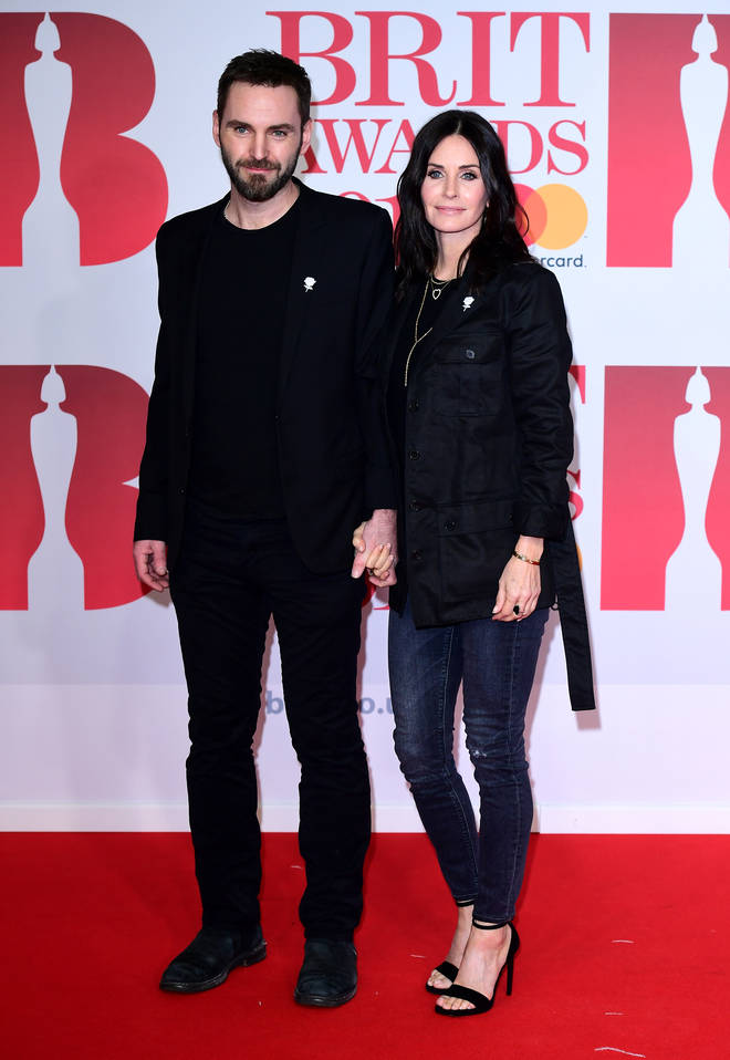 Courteney and Johnny were briefly engaged, but they are not married