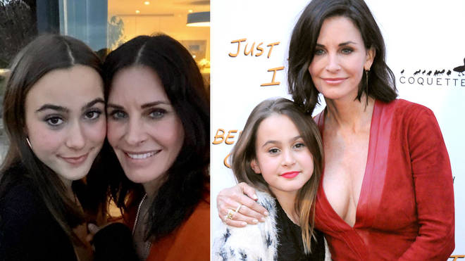 How many kids does Courteney Cox have?