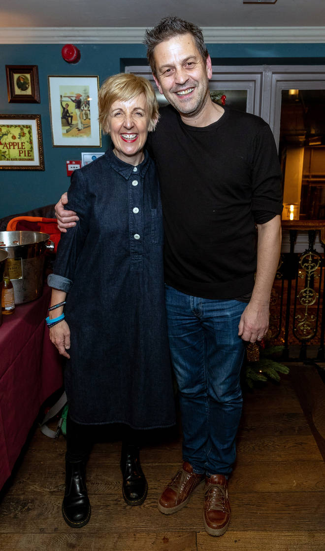 Julie Hesmondhalgh and Ian Kershaw have been married for 15 years