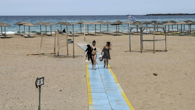 Brits are not currently allowed to travel to Greece on holiday