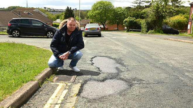 Al Mitchell said he's been complaining to the council for four years