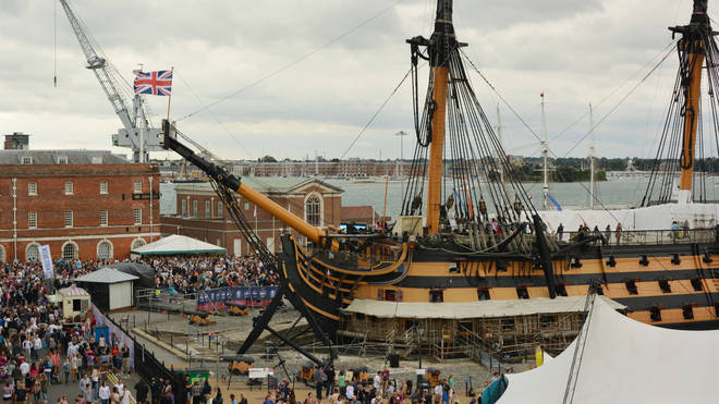 Victorious Festival takes place at Portsmouth Historic Dockyard