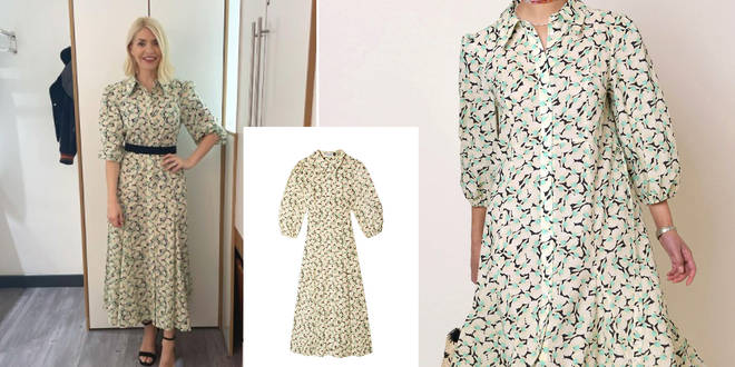 Here's how to get Holly Willoughby's dress on This Morning today