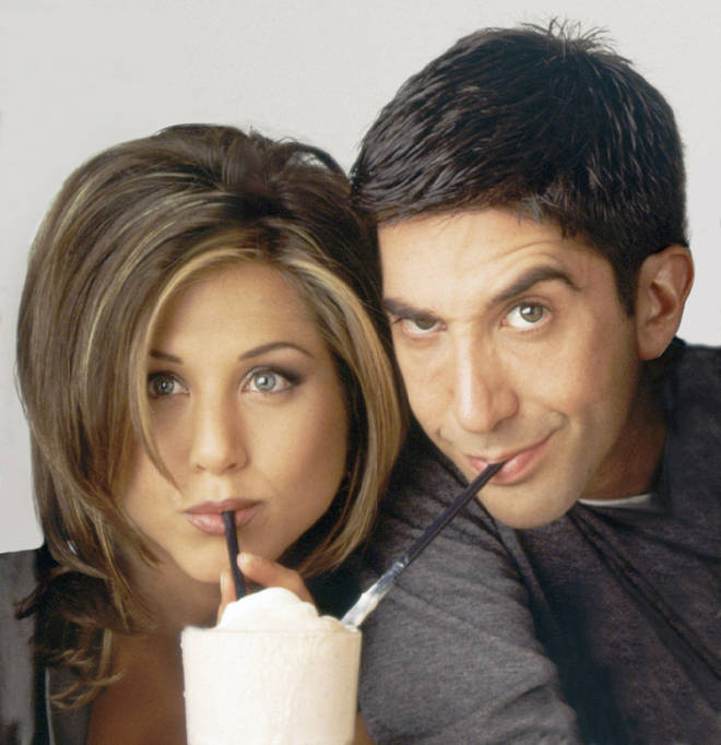 Ross and Rachel ended up together at the end of Friends
