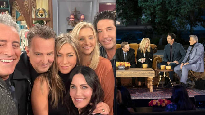 How long is the Friends reunion?
