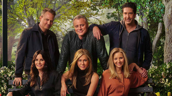 The Friends reunion is available to stream now